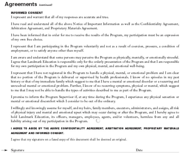landmark-agreement
